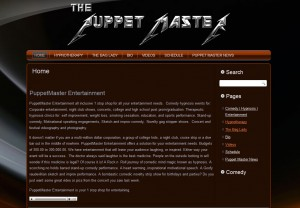 Web Design for the Puppet Master
